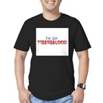 ive got tigersblood Men's Fitted T-Shirt (dark)