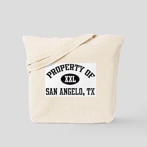 Property of San Angelo Tote Bag