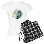 polar bears Women's Light Pajamas