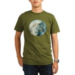 polar bears Organic Men's T-Shirt (dark)