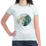 polar bears Jr. Ringer T-Shirt