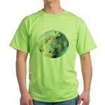 polar bears Green T-Shirt
