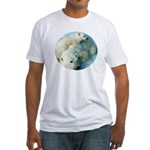 polar bears Fitted T-Shirt