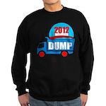 dump obama 2012 Sweatshirt (dark)