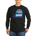 dump obama 2012 Long Sleeve Dark T-Shirt