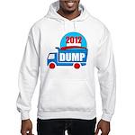 dump obama 2012 Hooded Sweatshirt