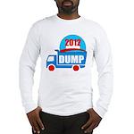 dump obama 2012 Long Sleeve T-Shirt
