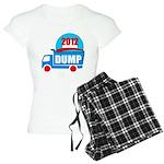 dump obama 2012 Women's Light Pajamas