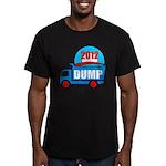 dump obama 2012 Men's Fitted T-Shirt (dark)