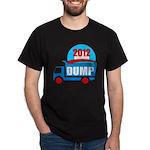 dump obama 2012 Dark T-Shirt