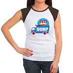 dump obama 2012 Women's Cap Sleeve T-Shirt