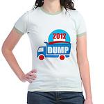 dump obama 2012 Jr. Ringer T-Shirt