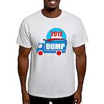 dump obama 2012 Light T-Shirt