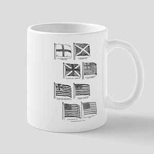U.S. Flag Evolution Mug