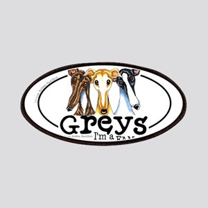 Greys Fan Funny Patches