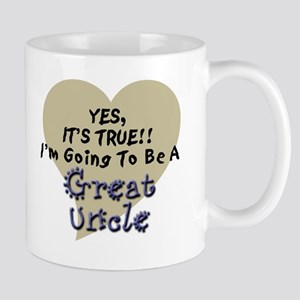 True Great Uncle To Be Mug