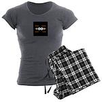 Never Ending Radio Show 1 Women's Charcoal Pajamas