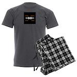 Never Ending Radio Show 1 Men's Charcoal Pajamas