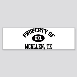 Property of McAllen Bumper Sticker