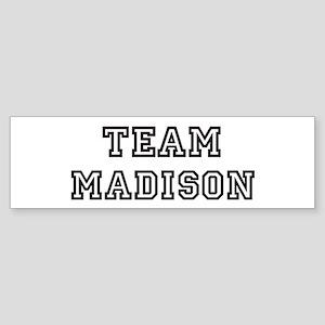 Team Madison Bumper Sticker