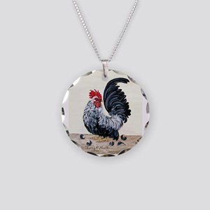 Chicken - Talk to the Tail Necklace Circle Charm