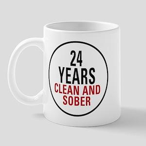 24 Years Clean and Sober Mug
