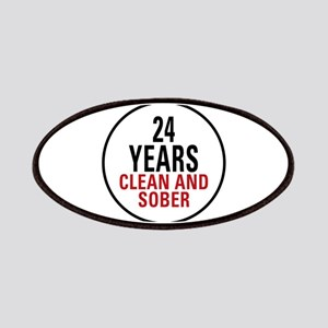 24 Years Clean and Sober Patches