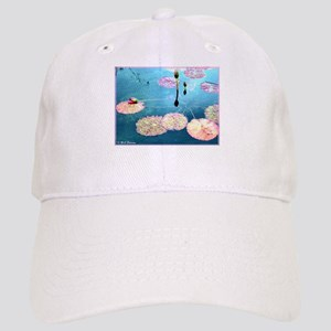 Water Lilies, colorful, Cap
