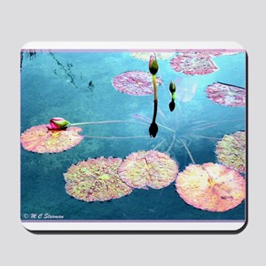Water Lilies, colorful, Mousepad