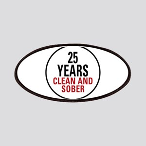 25 Years Clean and Sober Patches