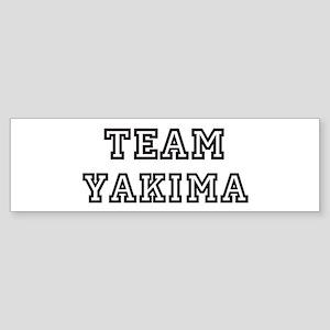 Team Yakima Bumper Sticker