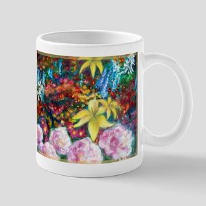 Flowers, Colorful, art, Mug