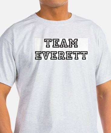 Team Everett Ash Grey T-Shirt
