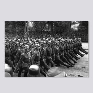 German Soldiers Marching Through Poland