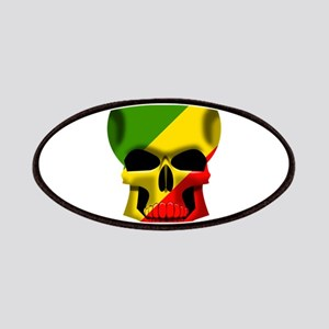 Congo Skull Patches