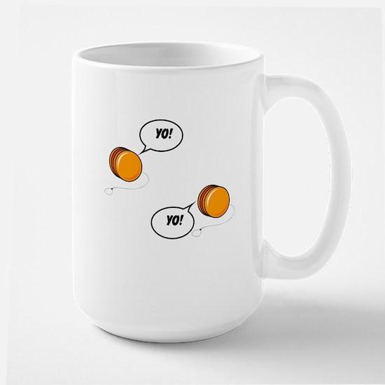 Yo, Yo Large Mug