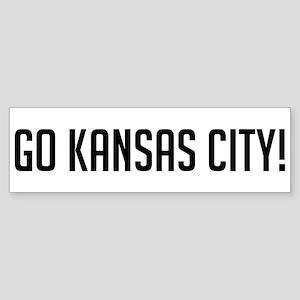 Go Kansas City! Bumper Sticker