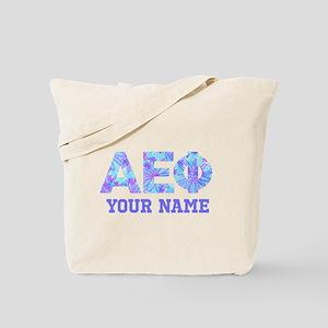 Alpha Epsilon Phi Letters Personalized Tote Bag
