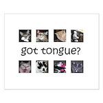 Got tongue Small Poster