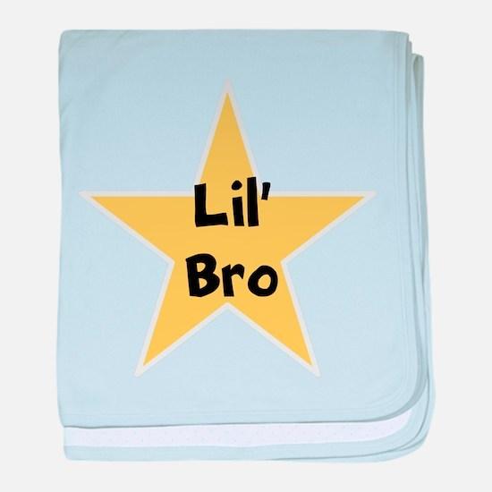 Lil' bro, fun, star, baby blanket