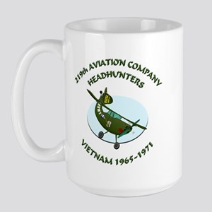219th Aviation Company Collec Large Mug