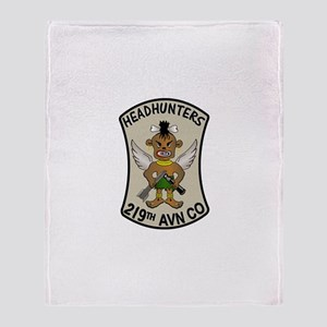 219th Aviation Company Collec Throw Blanket