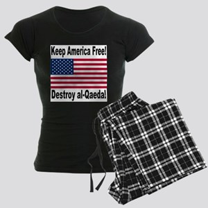 Destroy al-Qaeda Women's Dark Pajamas