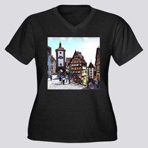 Rothenburg20161201_by_JAMFoto Plus Size T-Shirt