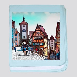 Rothenburg20161201_by_JAMFoto baby blanket