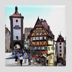 Rothenburg20161201_by_JAMFoto Tile Coaster