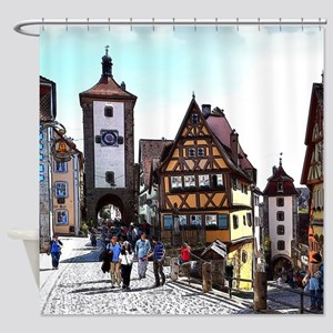 Rothenburg20161201_by_JAMFoto Shower Curtain