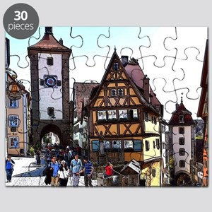 Rothenburg20161201_by_JAMFoto Puzzle