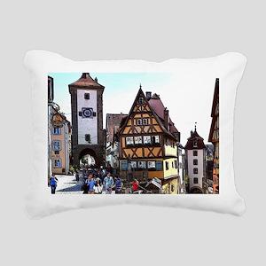 Rothenburg20161201_by_JA Rectangular Canvas Pillow