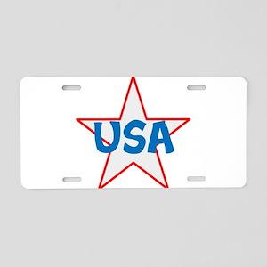 USA, awesome, Aluminum License Plate